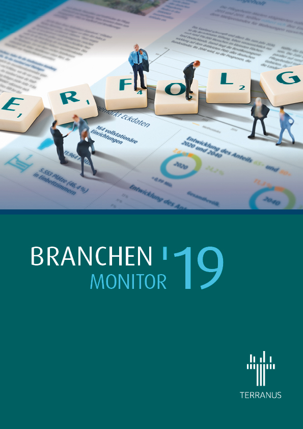 Cover des Branchen-Monitors 2019 von TERRANUS.