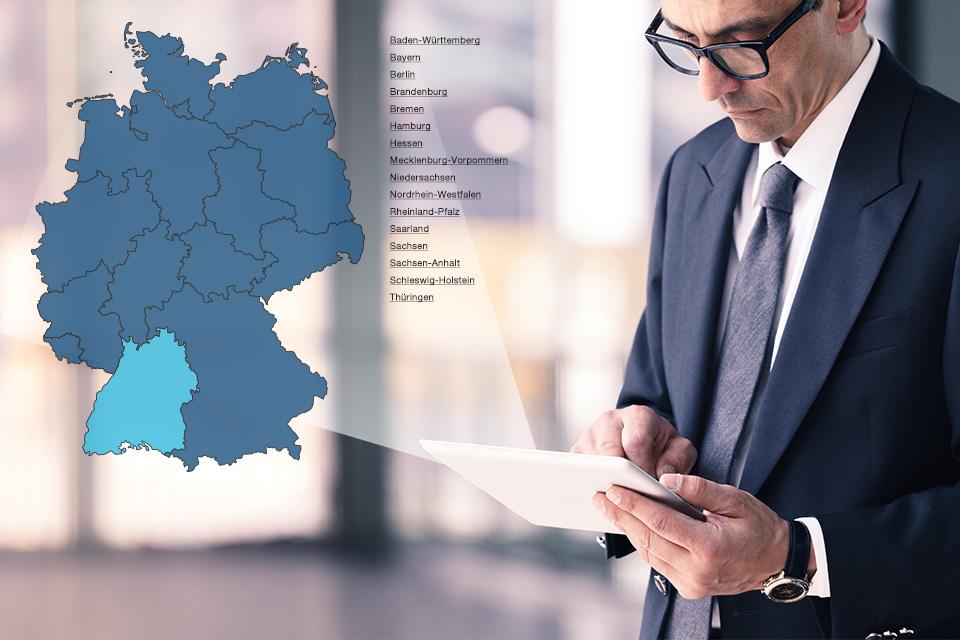 deutschlandkarte interaktiv Interaktive Deutschlandkarte: Jetzt online!   TERRANUS Wissenswert