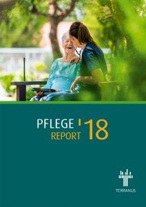 Cover des Pflege-Reports 2018 von TERRANUS.