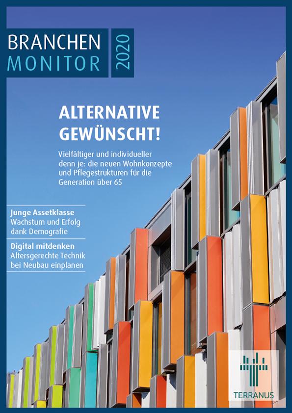 Cover Titelbild TERRANUS Branchenmonitor 2020