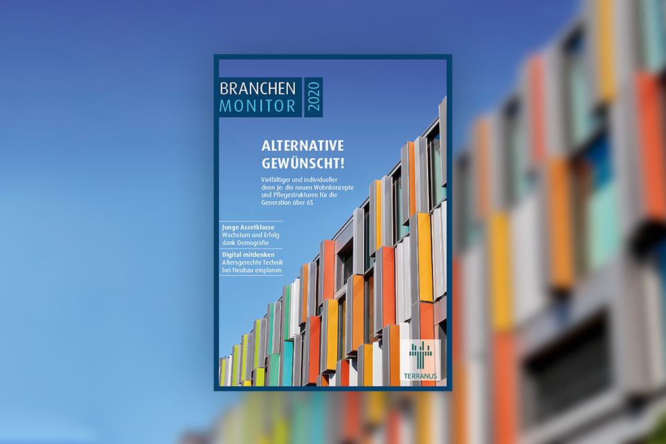 TERRANUS Wissenswert Branchenmonitor 2020 Cover Titelbild